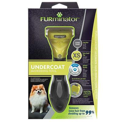 FURminator 691693 Long Hair Uzun Tüylü Köpek Tarağı - XSmall