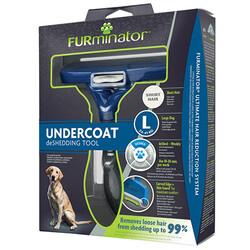 FURminator - FURminator 691656 Short Hair Kısa Tüylü Köpek Tarağı-Large