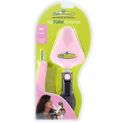 FURminator - FURminator 691024 Kitten Yavru Kedi Tarak Bakım Seti - Pembe
