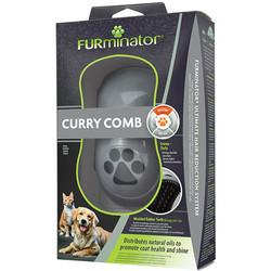 FURminator - FURminator 691715 Curry Köpek Masaj ve Yıkama Fırçası