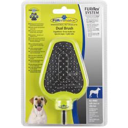 FURminator - FURminator 691595 Dual Brush Çift Taraflı Köpek Tarağı Başlık
