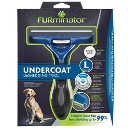 FURminator 691656 Short Hair Kısa Tüylü Köpek Tarağı - Large - Thumbnail