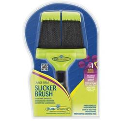 FURminator - Furminator Büyük Çift Taraflı Fırm Slicker Brush Fırça-Large