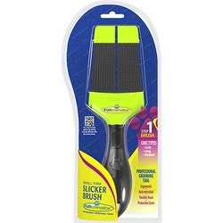 FURminator - Furminator Büyük Çift Taraflı Fırm Slicker Brush Fırça-Small