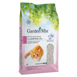 Garden Mix - Garden Mix İnce Taneli Bebek Pudralı Topaklaşan Kedi Kumu 10 Lt
