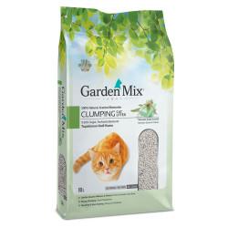 Garden Mix - Garden Mix İnce Taneli Topaklaşan Marsilya Sabunlu Doğal Kedi Kumu 10 Lt
