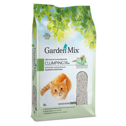 Garden Mix - Garden Mix Kalın Taneli Topaklaşan Marsilya Sabunlu Doğal Kedi Kumu 10 Lt