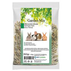 Garden Mix - Garden Mix Kemirgenler İçin Kurutulmuş Yeşil Yonca 350 Gr