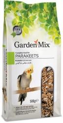Garden Mix - Garden Mix Platin Paraket Kuşu Yemi 500 Gr
