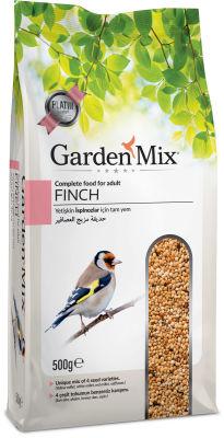 Garden Mix Platin Finch (Hint Bülbülü) Kuşu Yemi 500 Gr