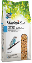 Garden Mix - Garden Mix Platin Yavru Muhabbet Kuşu Yemi 500 Gr