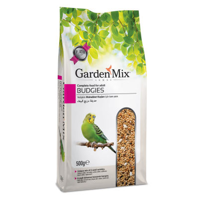 Garden Mix Platin Muhabbet Kuşu Yemi 500 Gr
