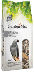 Garden Mix - Garden Mix Platin Papağan Kuşu Yemi 800 Gr
