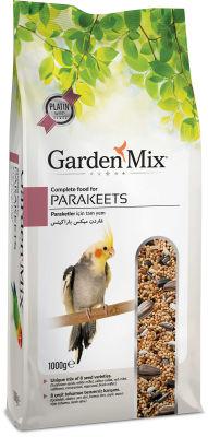 Garden Mix Platin Paraket Kuşu Yemi 1000 Gr