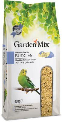 Garden Mix Platin Soyulmuş Muhabbet Kuşu Yemi 400 Gr