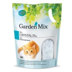 Garden Mix - Garden Mix Kokulu Silika Kedi Kumu 3.8 Lt
