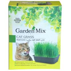 Garden Mix - Garden Mix Sindirim ve Tüy Yumağı Destekleyen Kedi Çimi