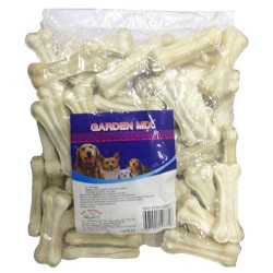Garden Mix - Garden Mix Sütlü Deri Kemik 20 - 25 Gr 50'li Paket