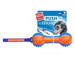 Gigwi - Gigwi 6181 Push To Mute Dumble Sesli ve Sesi Kapatılabilen Köpek Oyuncağı
