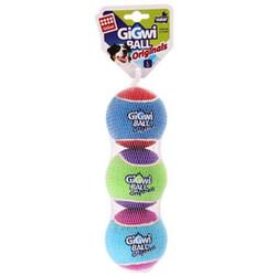Gigwi - Gigwi 6290 Gigwi Ball Köpek Oyuncağı Tenis Topu 3'lü Large