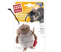 Gigwi - Gigwi 7021 Melody Chaser Sesli Peluş Ağustos Böceği Kedi Oyuncağı