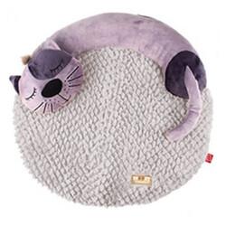 Gigwi - Gigwi 7262 Snoozy Friends 3D Kedi Model Kedi ve Küçük Irk Köpek Yatağı 45x55 Cm