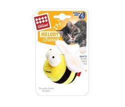 Gigwi - Gigwi 7017 Melody Chaser Sesli Peluş Arı Kedi Oyuncağı