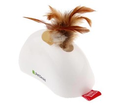 Gigwi 7022 Pet Droid Feather Hider Hareket Sensörlü Tüylü Sesli Elektronik Kedi Oyuncağı - Thumbnail