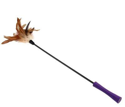 Gigwi 7063 Feather Teaser Doğal Tüylü Kedi Oltası 53 Cm
