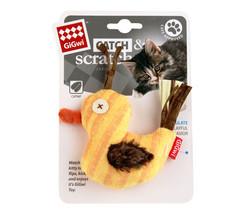 Gigwi - Gigwi 7102 Catch Scratch Catnipli Peluş Ördek Kedi Oyuncağı