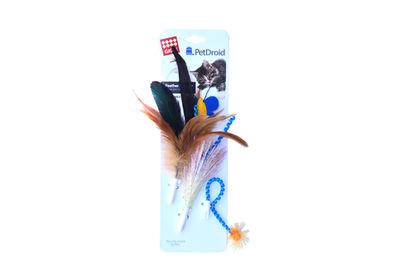 Gigwi 7210 Yedek Tüy ve Kuyruk (Gigwi Pet Droid 7002 Feather Spinner Oyuncak Uyumlu)