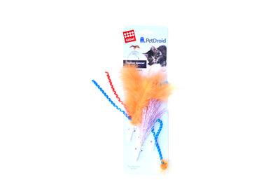 Gigwi 7211 Yedek Tüy ve Kuyruk (Gigwi Pet Droid 7002 Feather Spinner Oyuncak Uyumlu)