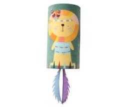 Gigwi - Gigwi 7217 Happy Indian Melody Aslan Sesli Gizli Doğal Tüylü Oyuncaklı Kedi Oyun Silindiri