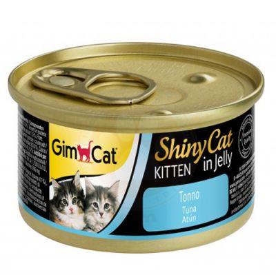 GimCat ShinyCat Ton Balıklı Jöleli Yavru Kedi Konservesi 70 Gr