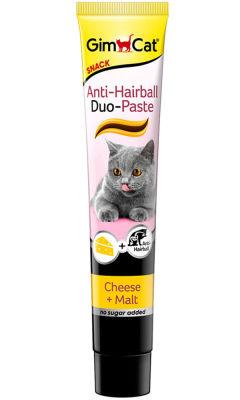 GimCat Anti-Hairball Duo Paste Peynirli Malt Kedi Macunu 50 Gr