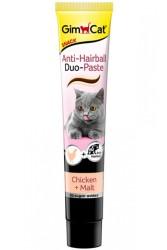 GimCat Anti - Hairball Duo Paste Tavuklu Malt Kedi Macunu 50 Gr - Thumbnail