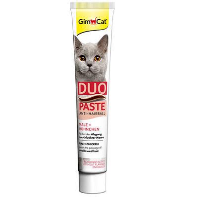 GimCat Anti - Hairball Duo Paste Tavuklu Malt Kedi Macunu 50 Gr