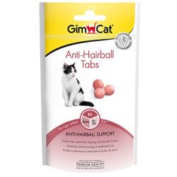 GimCat - Gimcat Anti-Hairball Tabs Tüy Yumağı Kontrol Kedi Ödül Tableti 40 Gr