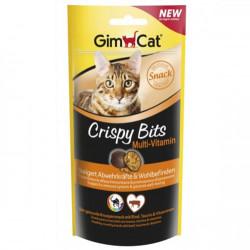 GimCat - Gimcat Crispy Bits Sığır Etli Multivitamin Kedi Ödülü 40 Gr