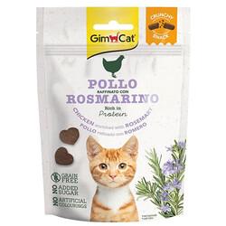 GimCat - GimCat Crunchy Snacks Tavuk Etli ve & Biberiye Tahılsız Kedi Ödülü 50 Gr