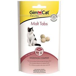 GimCat - Gimcat Malt Tabs Tüy Yumağı Kontrolü Kedi Ödül Tableti 40 Gr
