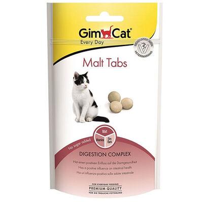 Gimcat Malt Tabs Tüy Yumağı Kontrolü Kedi Ödül Tableti 40 Gr