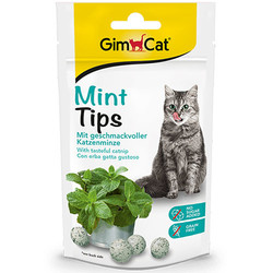 GimCat - Gimcat Mint Tips Tahılsız Kedi Ödülü 40 Gr