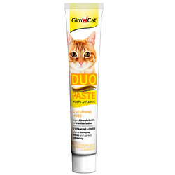GimCat - GimCat Multi - Vitamin Duo Paste Peynirli Kedi Macunu 50 Gr