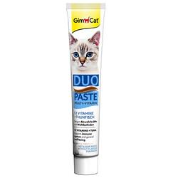GimCat - GimCat Multi-Vitamin Duo Paste Ton Balıklı Kedi Macunu 50 Gr