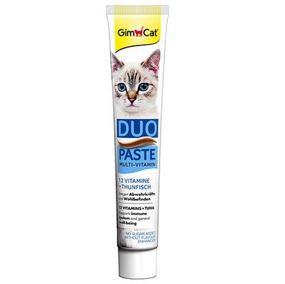GimCat Multi-Vitamin Duo Paste Ton Balıklı Kedi Macunu 50 Gr