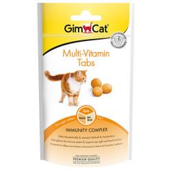 GimCat - Gimcat Multi-Vitamin Tabs Kedi Ödül Tableti 40 Gr