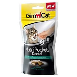 GimCat - Gimcat Nutripockets Dental Diş Sağlığı Kedi Ödülü 60 Gr