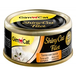 GimCat - GimCat ShinyCat Ton ve Balkabağı Kıyılmış Fileto Kedi Konservesi 70 Gr