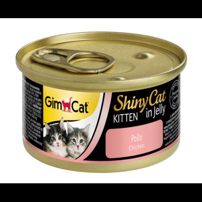 GimCat ShinyCat Tavuk Etli Jöleli Yavru Kedi Konservesi 70 Gr